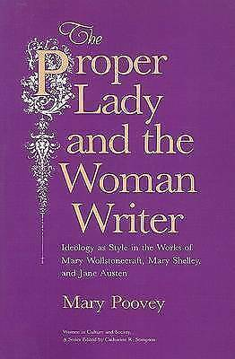 The Proper Lady and the Woman Writer. Ideology as Style in the Works of Mary Wol