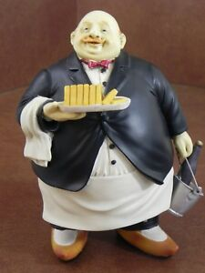 ... Vintage Italian Fat Chef Chubby Waiter Wine Amp