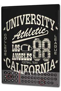 Calendario-perpetuo-Nostalgico-Los-Angeles-athletic-Magnetico