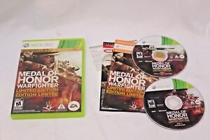 Medal-of-Honor-Warfighter-Limited-Edition-Xbox-360-MINT-Discs-Complete-CIB