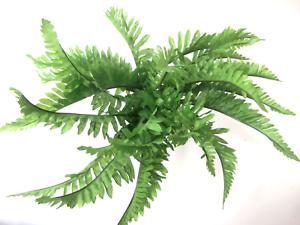 Artificial boston fern bush artificial flowers artificial leaves image is loading artificial boston fern bush artificial flowers artificial leaves mightylinksfo
