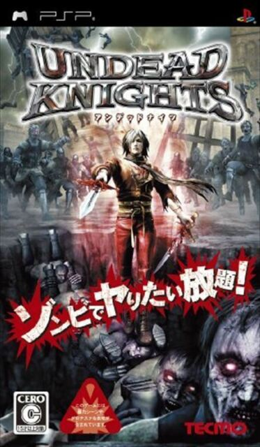 Used PSP   Undead Knights  SONY PLAYSTATION JAPAN IMPORT