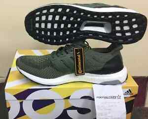 huge selection of 85bb9 84a0e Image is loading Adidas-Ultra-Boost-M-2-0-Olive-Green-