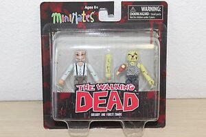Walking Dead Minimates Series 8 Gregory /& Forest Zombie