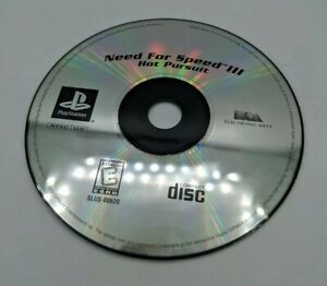 Need for Speed III/3: Hot Pursuit (Sony PlayStation 1/PS1, 1998) Disc Only