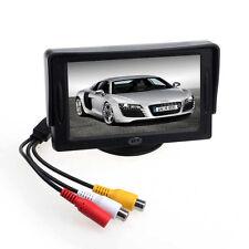 Para DVD GPS Inversa Backup Cámara Coche 10.9cm TFT LCD Color Vista trasera