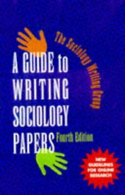 Write my sociology paper