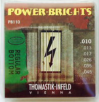 Thomastik Infeld Pb110 Power-brights Electric Guitar Strings 10-45