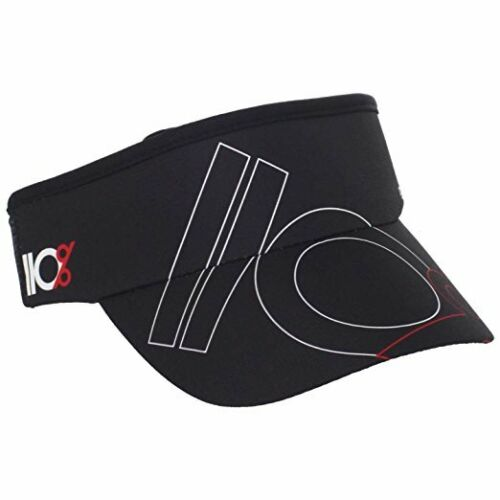 New NWT 110/% Play Harder Knock Out Improvisor Visor Hat Dry Fit Gym Work Out