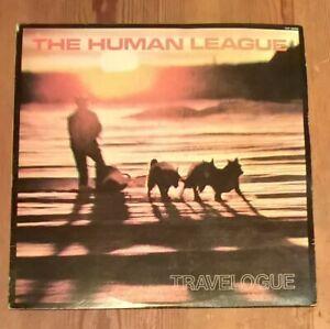 The-Human-League-Travelogue-Vinyl-LP-Album-33rpm-1980-Japanese-Issue-VIP-6956