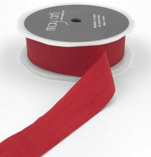 sold by the metre GORGEOUS FAUX SILK RIBBON By May Arts