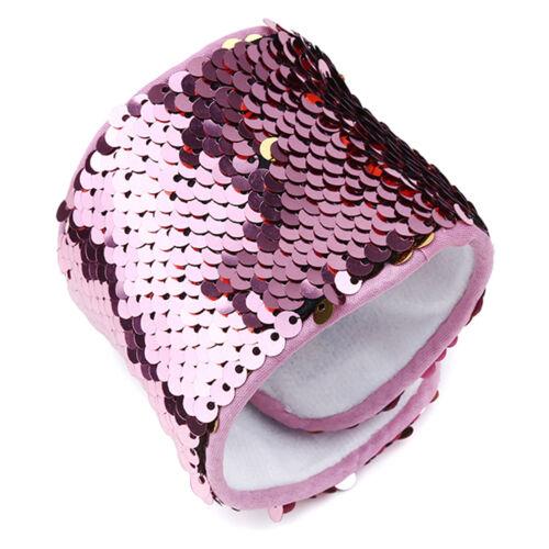 Paillettes Couleur Changeante Sirène rêve Bracelet Bangle Aussie vendeur Bracelet G