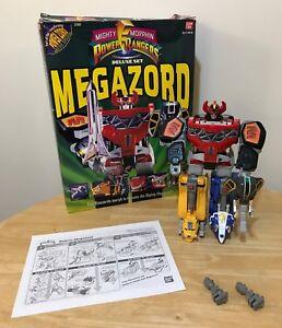 Power Rangers Deluxe Megazord Deluxe Action Figure BanDai MMPR 2260