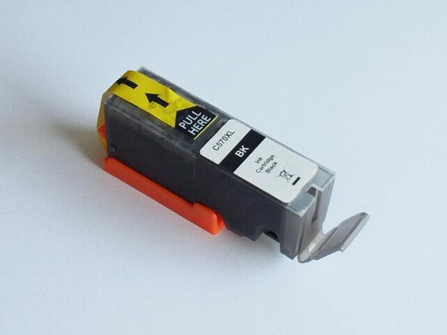 Peach C570XL BK Druckerpatrone Tintenpatrone schwarz komp. zu Canon PGI-570XL bk