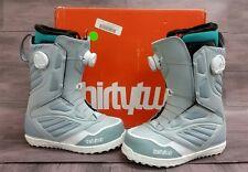 2017 ThirtyTwo 32 Binary Snowboard Boots BOA , WOMEN'S Size 6.5 - Grey White