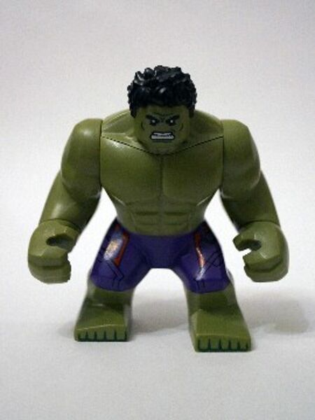 LEGO 76031 - Super Heroes  The Avengers - HULK - Mini Figure   Mini Fig