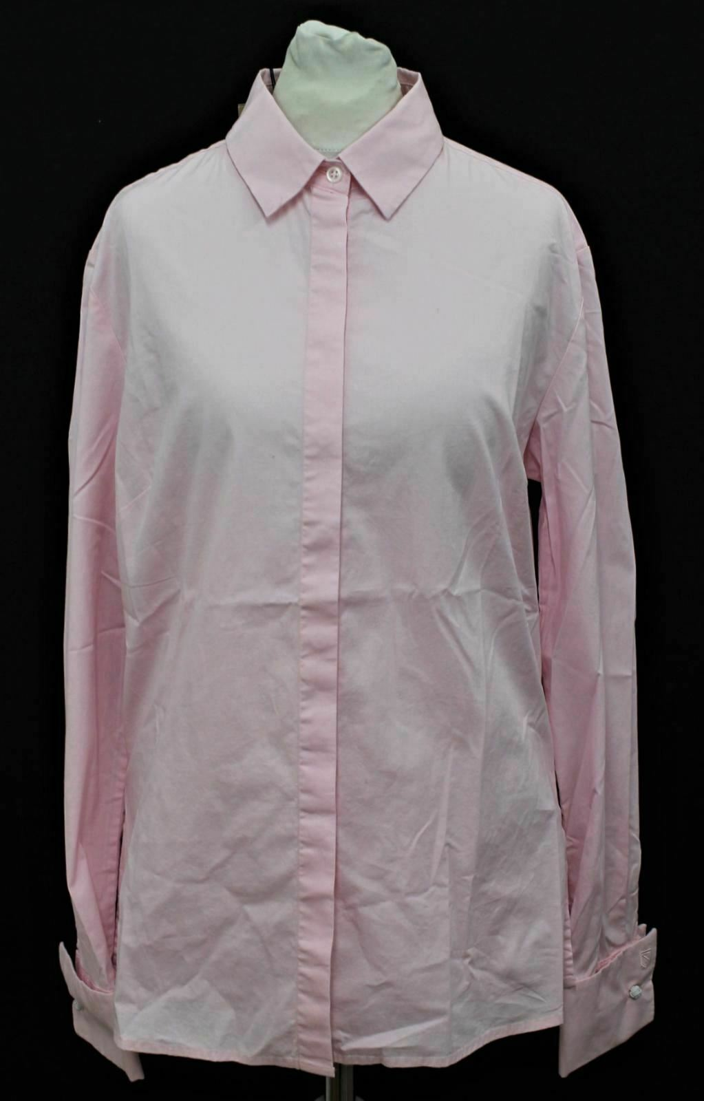 BNWT DUBARRY Ladies Daffodil Pale Rosa Stretch Cotton Blouse Shirt UK12 EU38