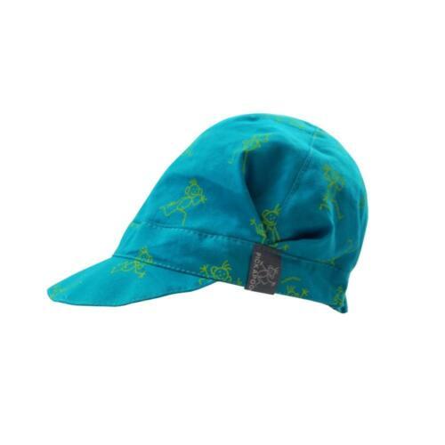 PICKAPOOH Kinder Schirmmütze Rico Bio-Baumwolle Sonnenhut Sonnemütze