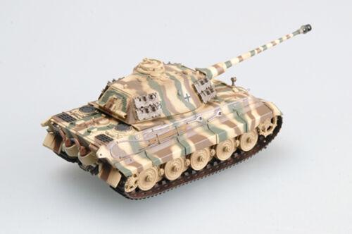 WW2 German King Tiger II Porschel SS abt 503 painting Tank  1:72 Easy Model