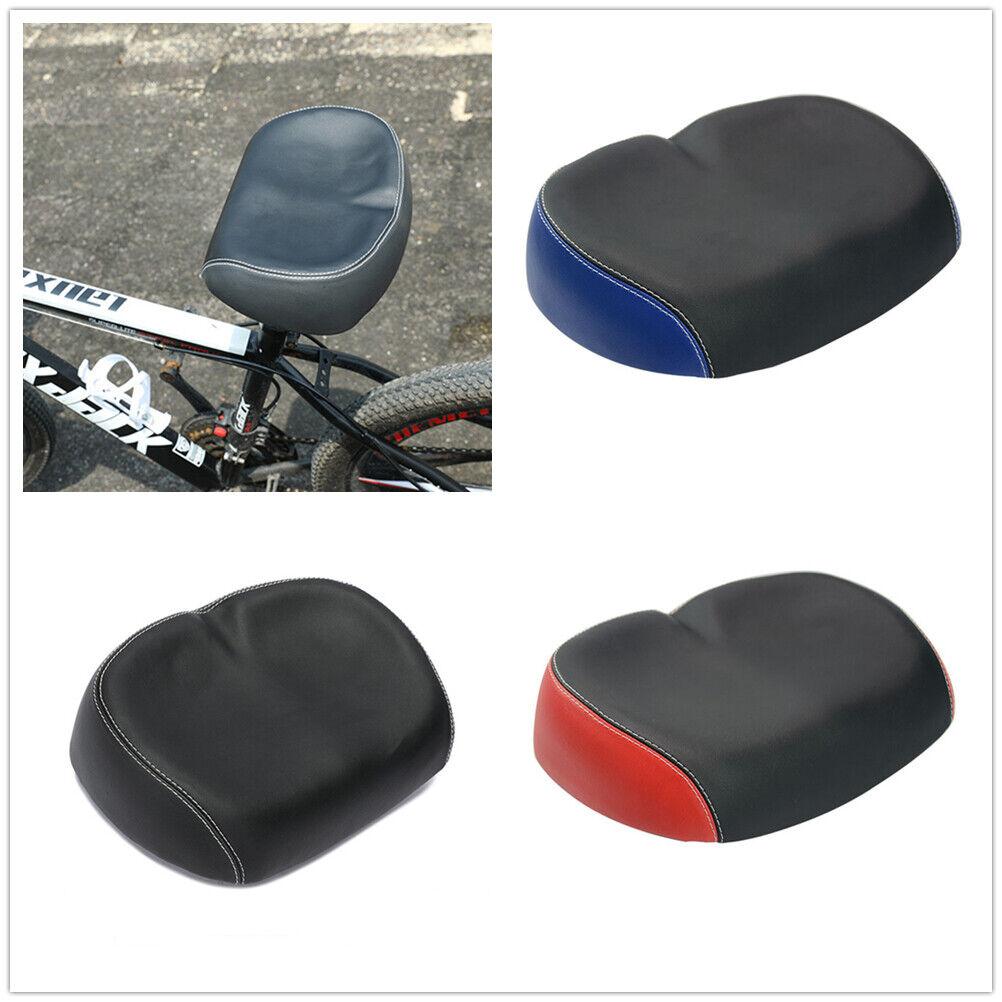 UK Comfort Wide Big Bum Bike Extra Sporty Soft Pad Saddle Seat Component 26*17cm