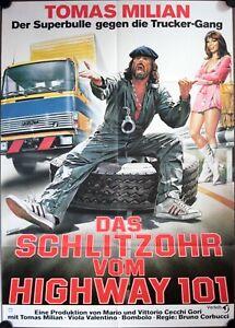 Schlitzohr Vom Highway 101 German Movie Poster A1 Delitto Sull Autostrada Casaro Ebay