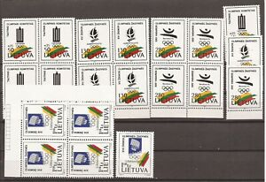 LITHUANIA- 2 Olympics Sets in small quantity ( All MNH)