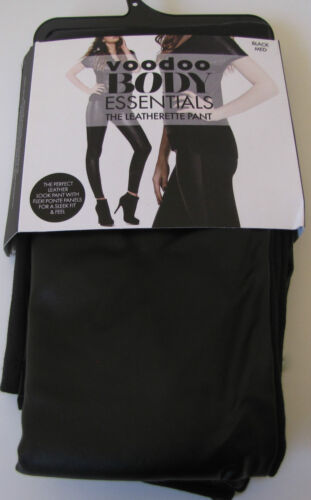 sizes S//M//L RRP $45 Brand New VOODOO Body Essentials The Leatherette Pant