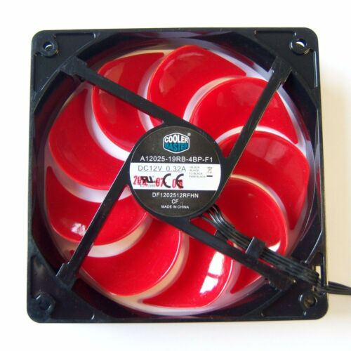 Cooler Master PWM PC Computer Case Fan 120mm 12cm 4 Pin Cooling Cooler Quiet F15