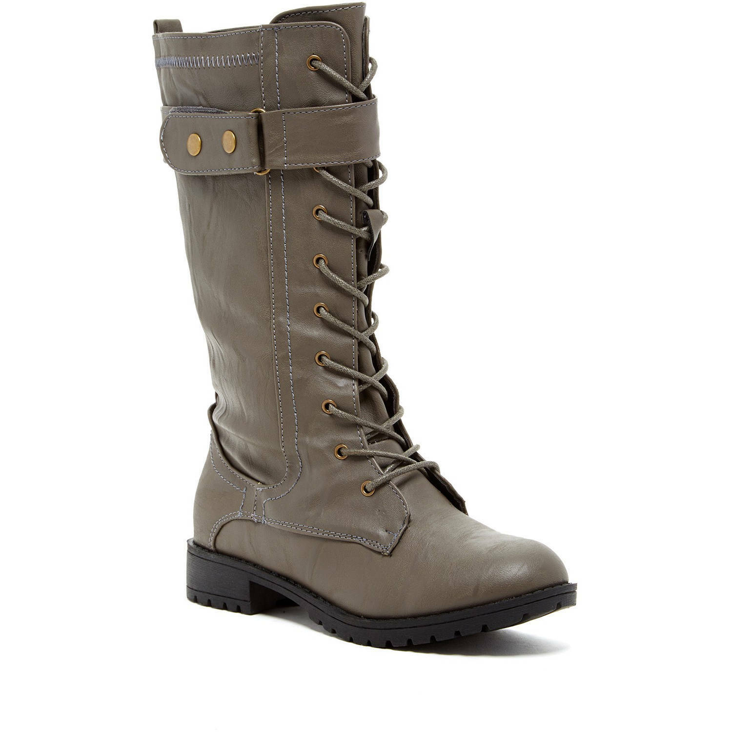 8aa38574690e1 ... Carrini Carrini Carrini CA Collection Women s Fashion Lace-Up Boots  Size 9