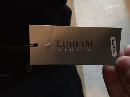 Cashmere nieuw zwart labels jas Lubiam met wollen Studio 52 maat tOwT7q
