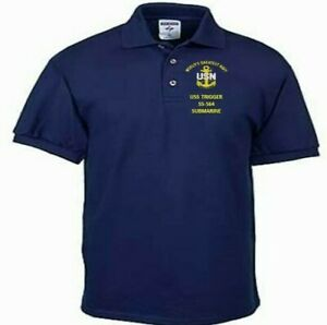 USS-TRIGGER-SS-564-SUBMARINE-EMBROIDERED-LIGHTWEIGHT-POLO-SHIRT