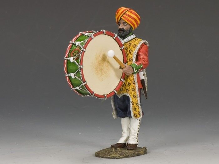 King & Country Collectible Soldiers SOE017(G) Sons Of The Empire Big Drummer