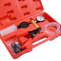 2 In1 Brake Bleeder Bleeding & Vacuum Pump Tester Kit Professional Automotive on sale