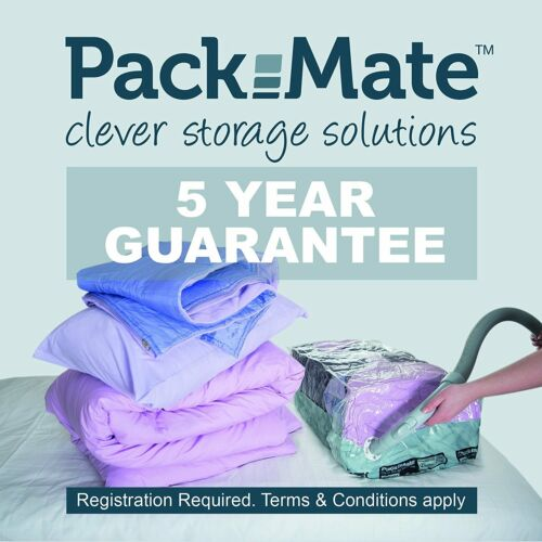 Packmate Volume Vacuum Compressed Space Saver Storage Bags L//XL//J Sizes