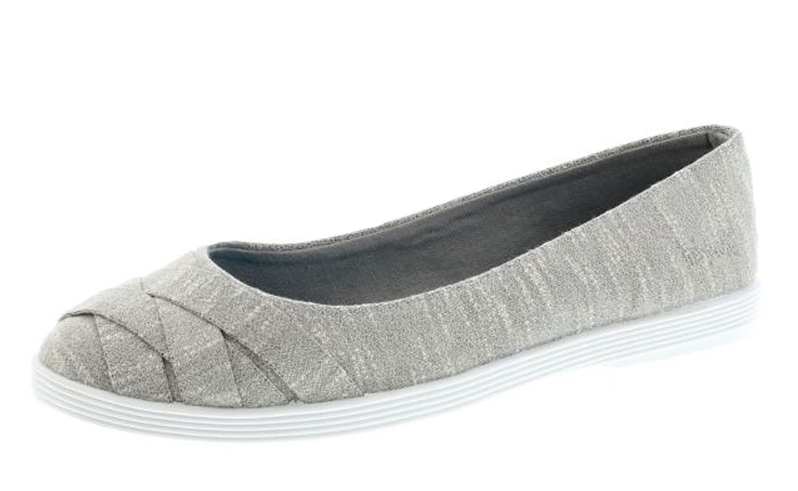 Blowfish NEW Glo 2 heather grey women's flat ballet fashion shoes sizes 3-8