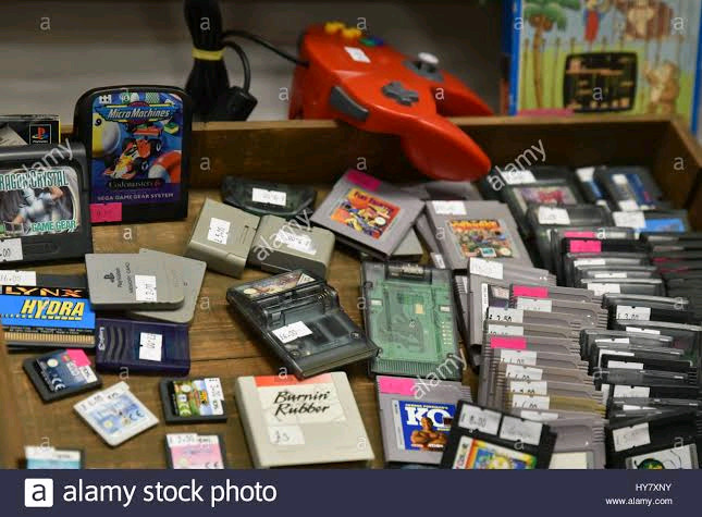 Wanted - Retro Video Games