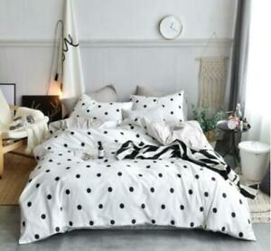 3D Black And White Dots KEP2850 Bed Pillowcases Quilt Duvet Cover Kay