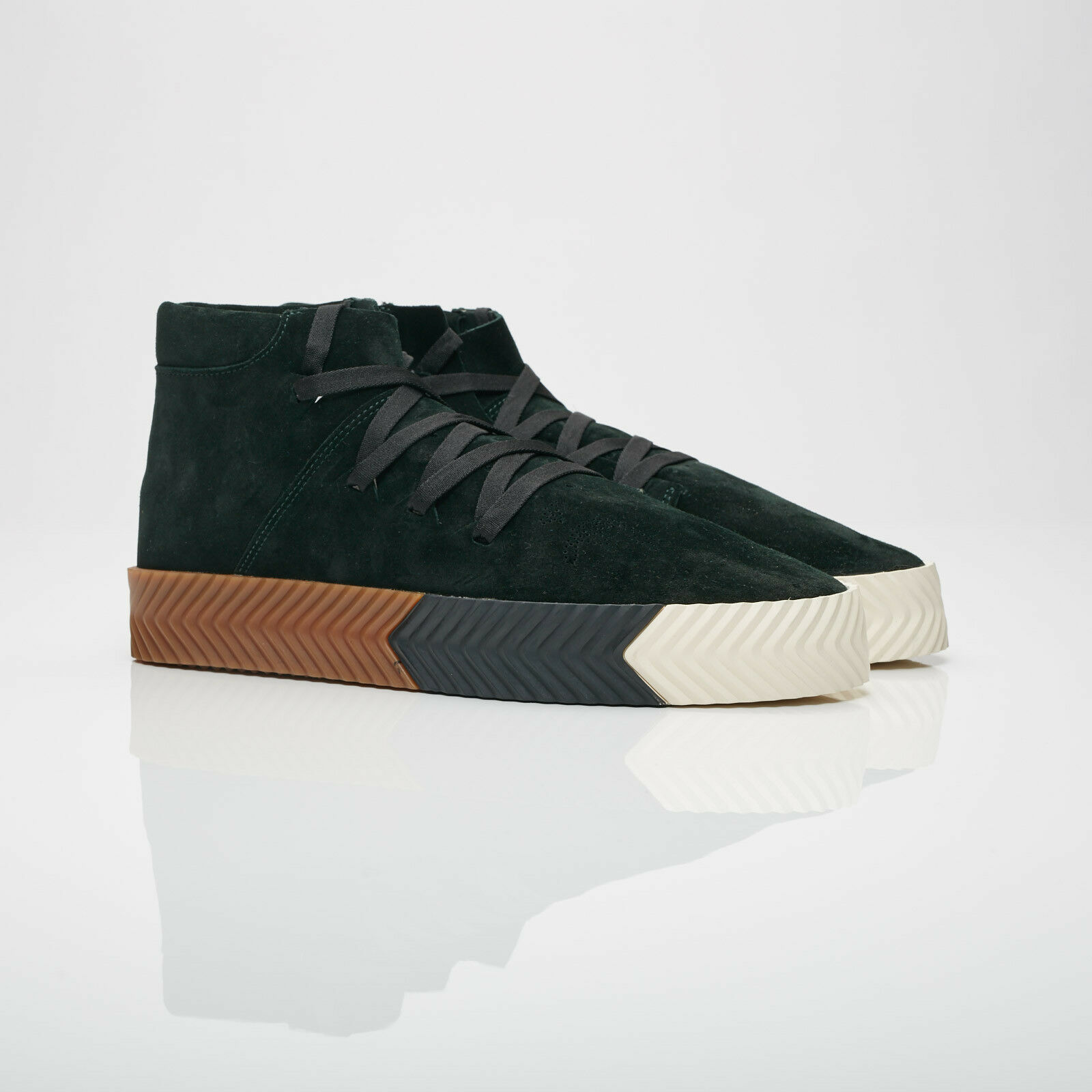 adidas Originals by ALEXANDER WANG  Skate Mid Green Night