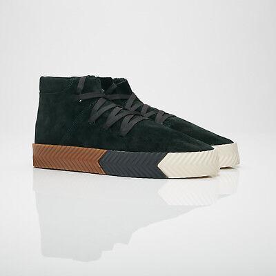 adidas Skate Mid Alexander Wang Green Night