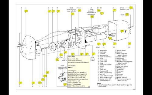 Raymarine Autopilot Linear Drive Unit Heavy Duty Gear Kit N021 Auto Pilot Spares