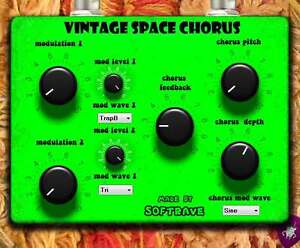 Details about Vintage Space Chorus VST 1 0 - virtual effect for pc computer  proram
