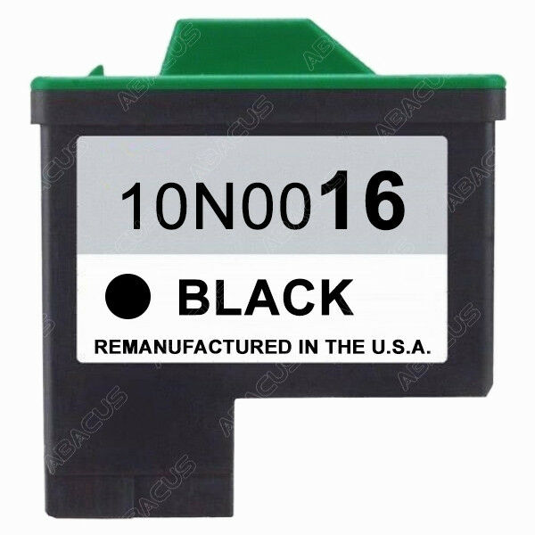 Lexmark 16 Black Cartridge