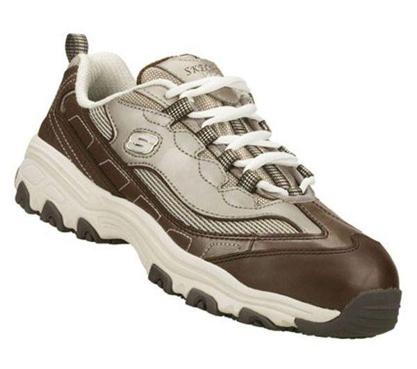NEU Skechers  76442 Damenschuhe  Work D'lite S R Service EH  Safe hiker  Schuhes sz 9