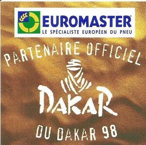 AUTOCOLLANT-RALLY-PARIS-DAKAR-1998