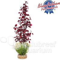 Fiesta Jungle Red & Green Weighted Free-standing Colorburst Plastic Plant 15