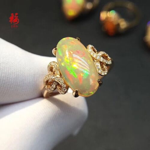 Natural Colored Welo OPAL Ring S925 STERLING SILVER Ring