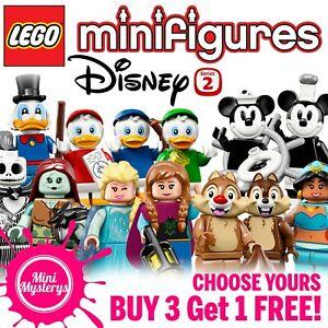 Disney-serie-2-LEGO-Minifigures-71024-1-18-Choisissez-le-votre-Achetez-3-Obtenez-1-Gratuit