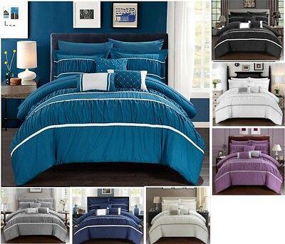 10 Pezzi Comforter Set / Letto In Borsa Con Foglio Set - 7 Colori