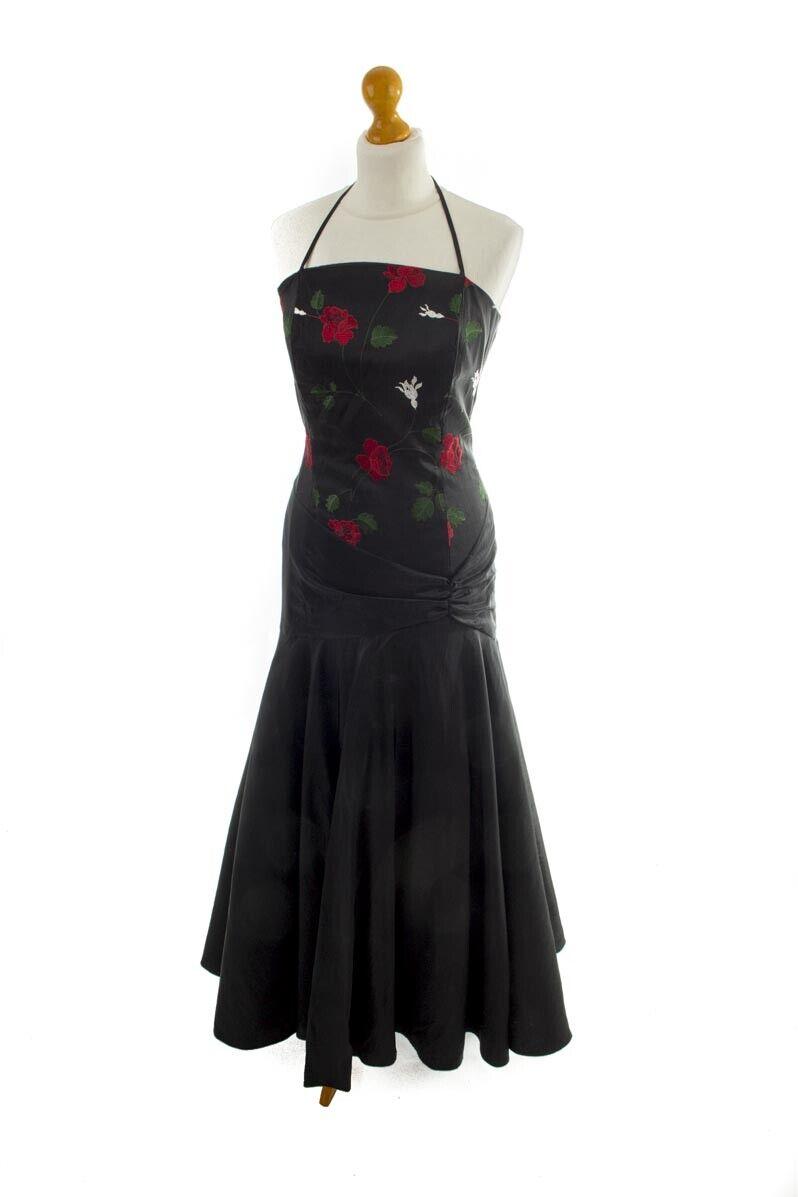 Top Da Tango Rossa Spina Fantasia Floreale Pizzo Blu Attractive Appearance Donna: Abbigliamento Abbigliamento E Accessori