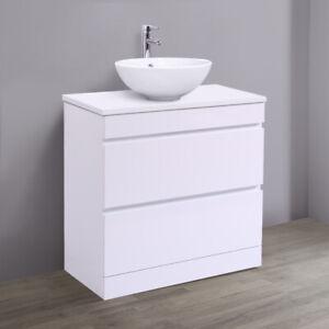 800mm Bathroom Vanity Unit Countertop Basin Storage 2 ...
